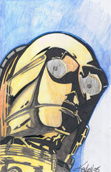 C3PO unfinished by KGOODNER