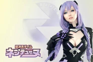 Hyperdimension Neptunia - Purple Heart by Poompaboom
