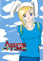 Fiona of Adventure Time by jigokushounen02