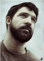 Face Study 2012 by artbearny