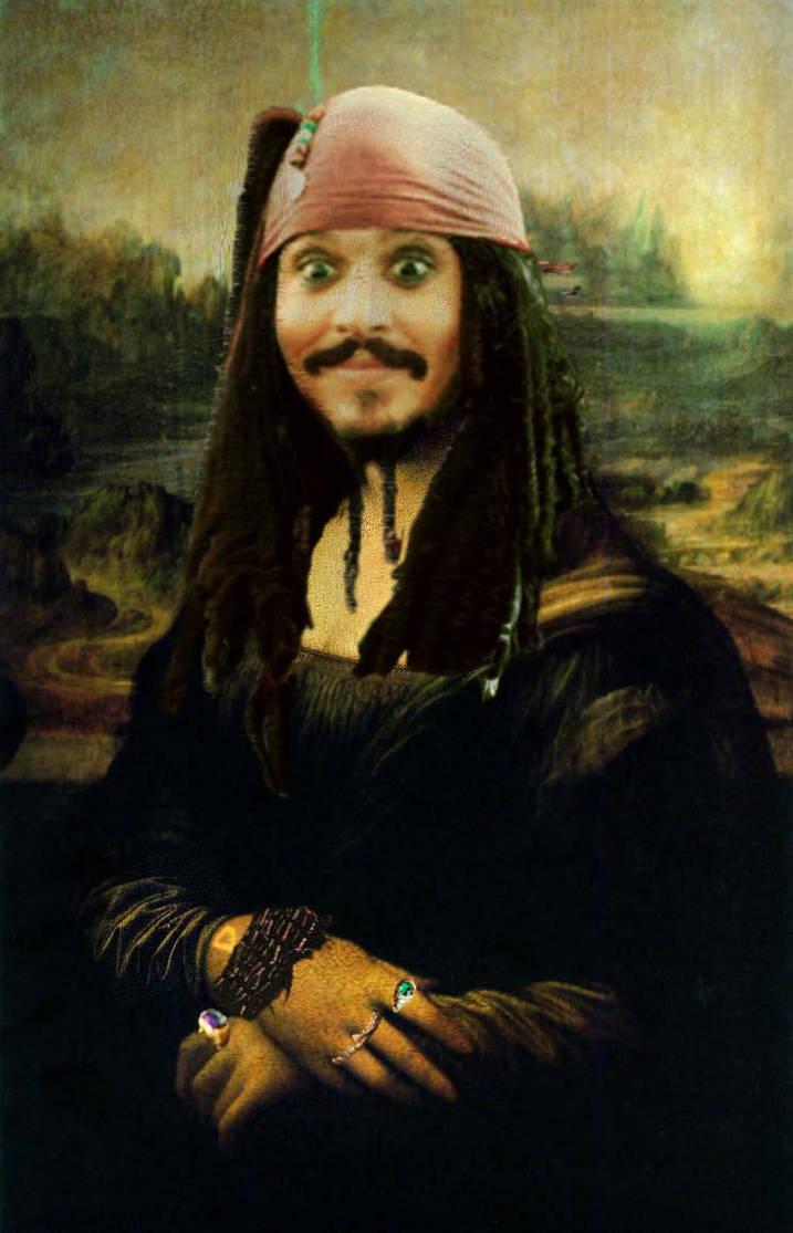 Jack Sparrow Mona Lisa by ridgl