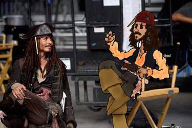 Jack Sparrow with Jack Sparrow by ridgl