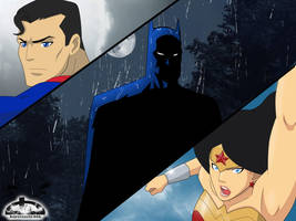 DC Comics Trinity by kurotsuchi-666