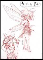 Peter Pan: Graphic Novel - Tinker Bell Design by RenaeDeLiz