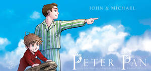 Peter Pan: The Graphic Novel - John and Michael by RenaeDeLiz
