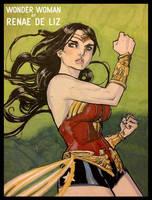 Wonder Woman by RenaeDeLiz