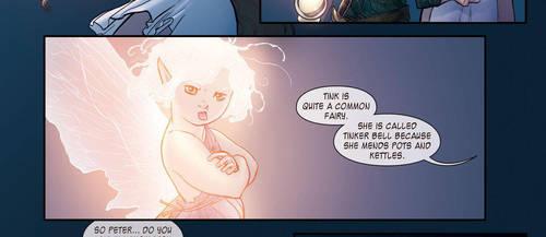 Panel Clip: Tinker Bell by RenaeDeLiz