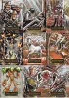LOTR: Masterpieces set 5 by RenaeDeLiz