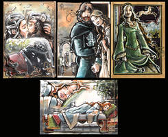 LOTR Commissions Set 1 by RenaeDeLiz