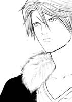 Squall Leonhart by Shight