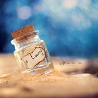 Not So Lost Bottle. by andokadesbois