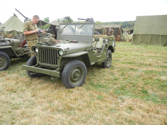 Willys Jeep by Stonewall211