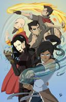 Korra - New Team Avatar by Kakete
