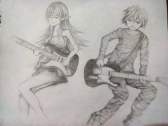 Strat and Tele by NoraDeco