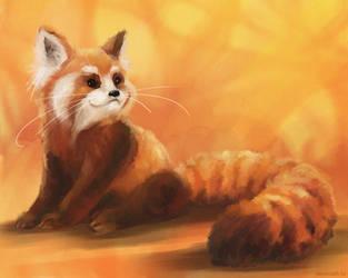 Red Panda by sans-art
