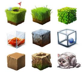 Challenge materials by sans-art