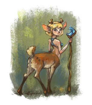 Deertaur by sans-art