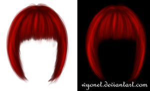 Hair Stock Red by Wyonet