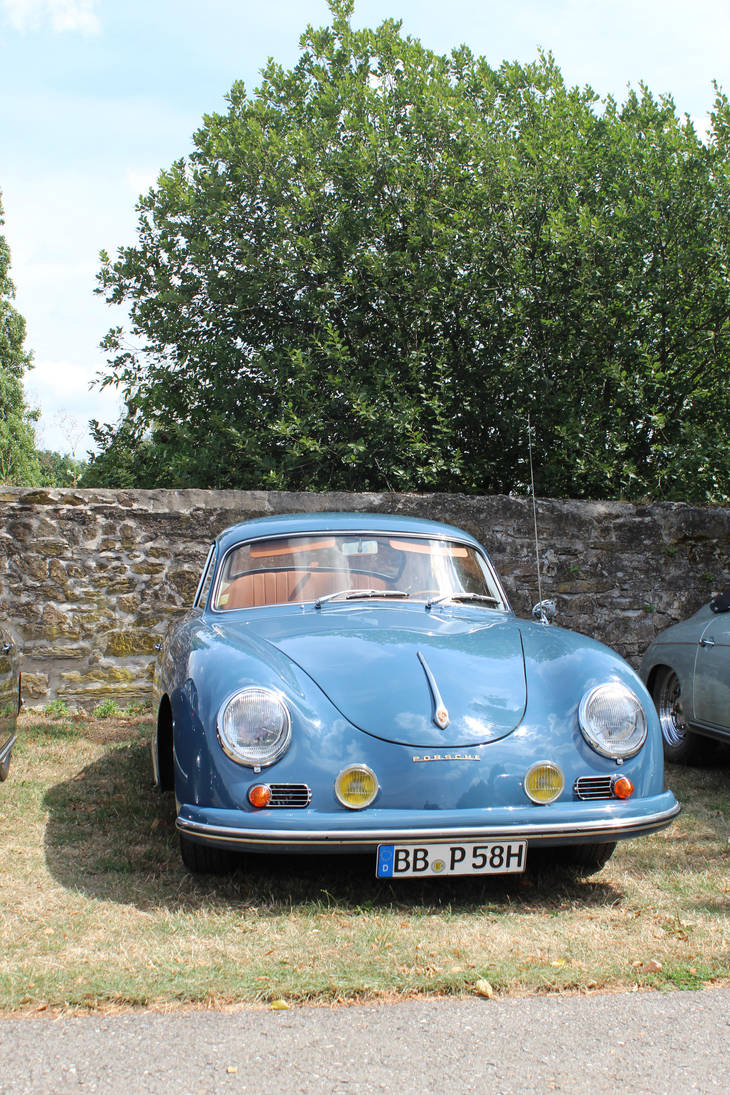Porsche Oldtimer Blue By Wyonet On Deviantart