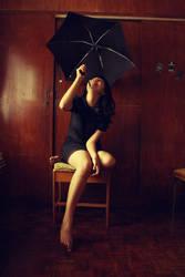 Rain in my Room. by poporina