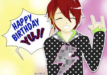Happy Birthday Yuji from SuG by sodapopfizz