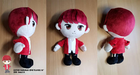 Custom Made 10inch kpop plushie by sewcuteplushies