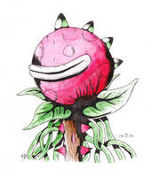 Happy Plant by BMIllustration