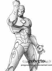 Iron Man by ProgressiveVein