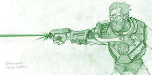Steampunk Green Lantern by doodoostew