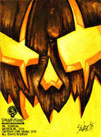 Mr. Pumpking by SavageSinister