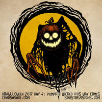 Drawlloween - Pumpkin Wicked This Way Comes by SavageSinister