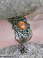 Amber by BlackWings-jewelry