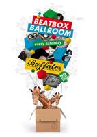beatbox ballroom flyer by south