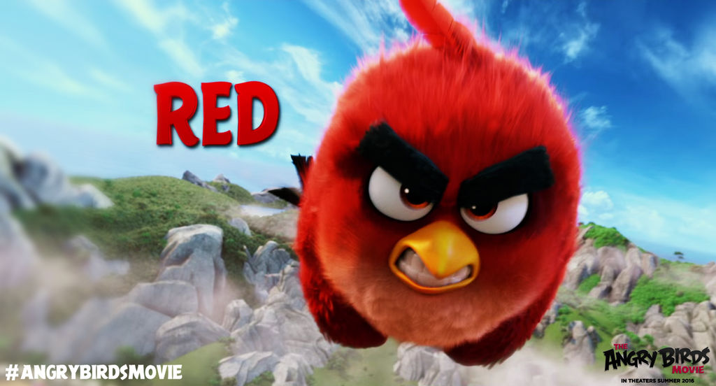 Drawing Angry Birds Movie: The Angry Birds Movie Red Wallpaper By Jeremiekent13 On