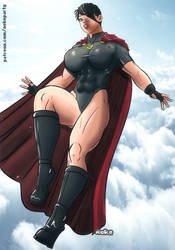Soviet Superwoman by nekolab