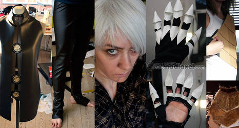 Cosplay Progress: Fenris 1 by Nadiaxel