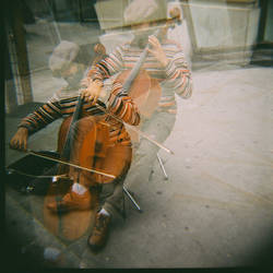Cellist Double by bobaverage