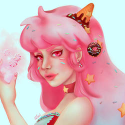 Cotton Candy by Lovelorn-Insanity