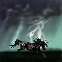 Thunder awaits by karliashi