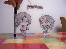 Paper Child - Frerard by xYamiKawaitax