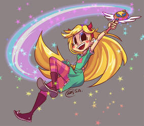 Star VS The Forces of Evil - Star Butterfly by essuei