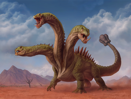 Wandering Hydra by he-burrows