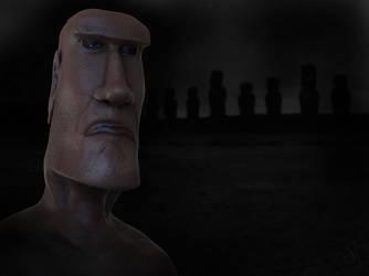 Moai Alien 2 by Morit