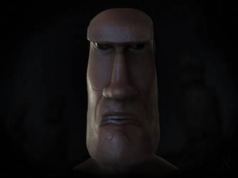 Moai Alien 3 by Morit