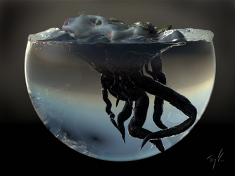Water Creature 2 by Morit
