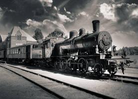 Veteran train by carlzon