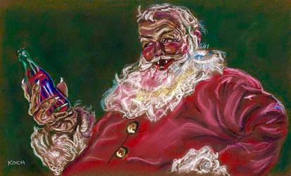Vampire Santa by Roger Koch by tabongafan
