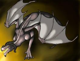 Cave Dragon by DeviousCreator9000