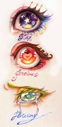 magical eyes by Bubachan-desu