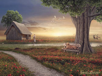 A Peaceful Place V by apanyadong